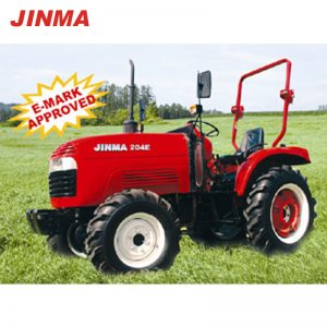 JINMA 4WD 20HP Wheel Farm Tractor with CE Certification (JINMA 204E)