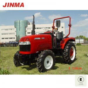 JINMA 4WD 35HP Wheel Farm Tractor with E-MARK Certification (JINMA 354E)