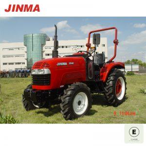 JINMA 4WD 35HP Wheel Farm Tractor with E-MARK Certification (JINMA 354E)
