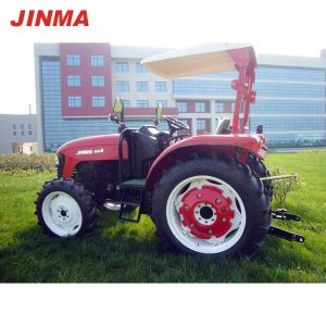 JINMA 4WD 50HP Wheel Farm Tractor with E-MARK Certification (JINMA 504E)